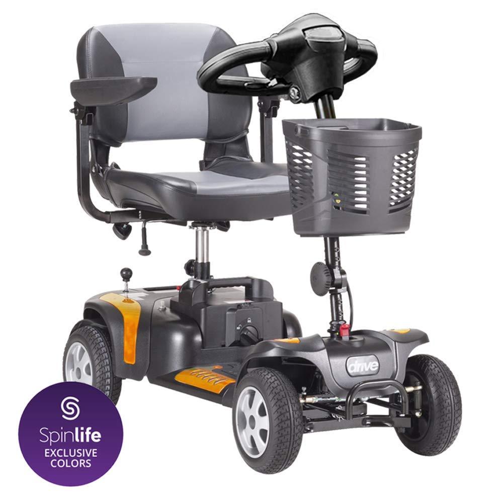Amazon.com: Drive Medical Phoenix HD - Patinete de 4 ruedas ...