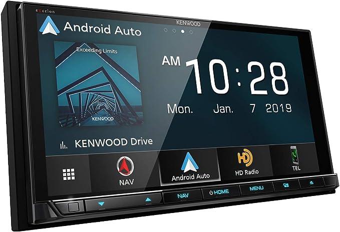 "Amazon.com: Kenwood DNX996XR 6.8"" DVD Navigation Receiver w/ Wireless CarPlay & Android Auto: GPS & Navigation"