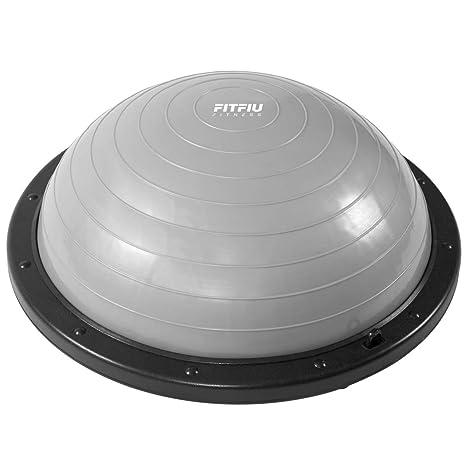 Fitfiu -AB8001 Pelota para Gimnasia y Pilates, Unisex Adulto, Gris ...