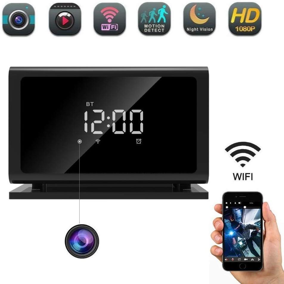 "Wi-Fi Stereo Nanny Motion /"" 4K HD Hidden Cameras Bluetooth Speaker Wireless IP"