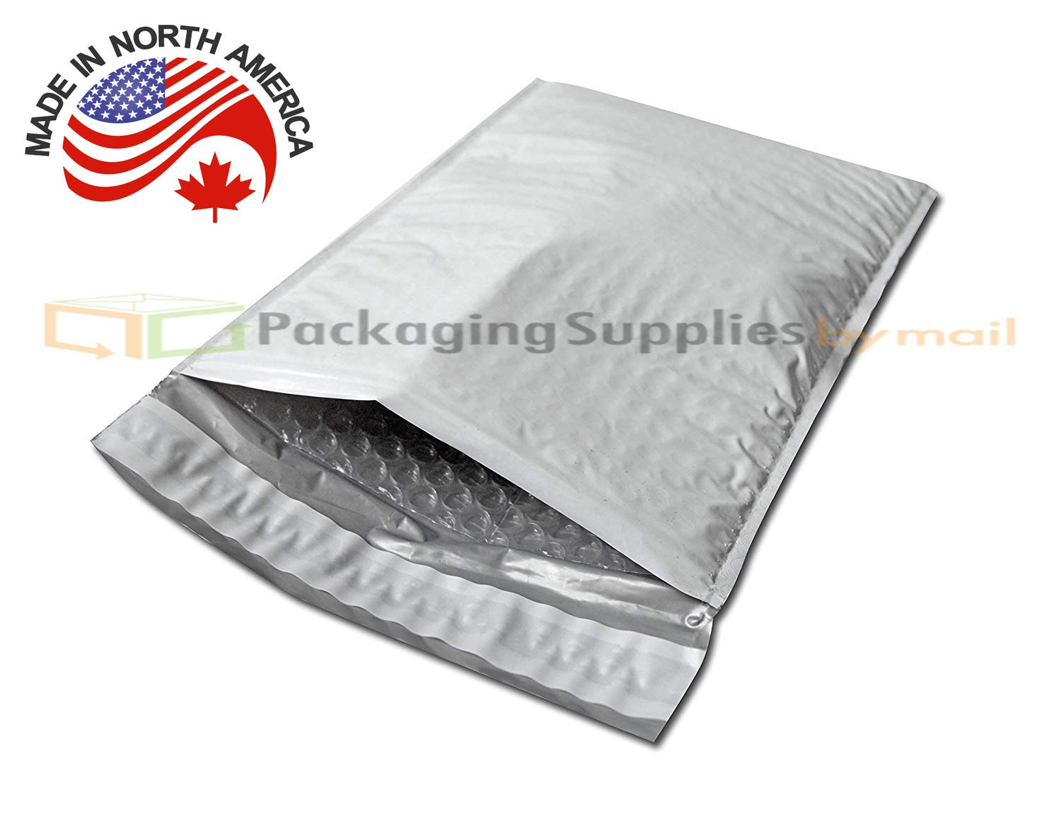 White Peel /& Seal 8.5 x 14.5 Inch 8.5x14.5 Bubble Poly Mailer Padded Envelopes 100 Pack