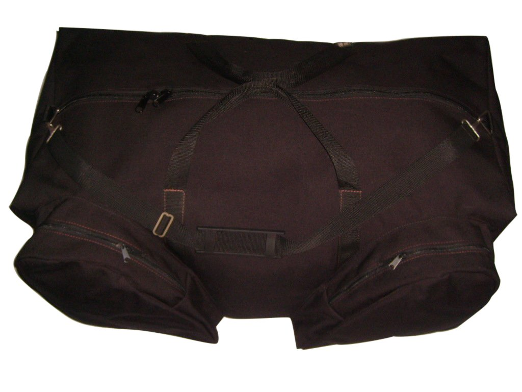 Goalie Bag for Hockey, heavy Duty Equipment Bag with Skates Pockets and End Pocket. BAGS USA