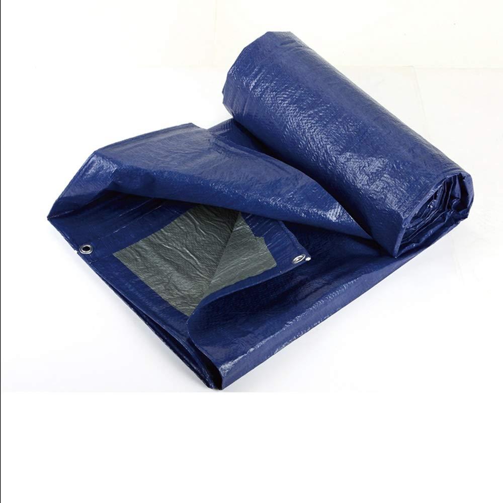 防水シート、厚いトラックプラスチック防水防水防水サンシェードプールマット布 (サイズ さいず : 4 * 5m) 4*5m  B07H298MFC