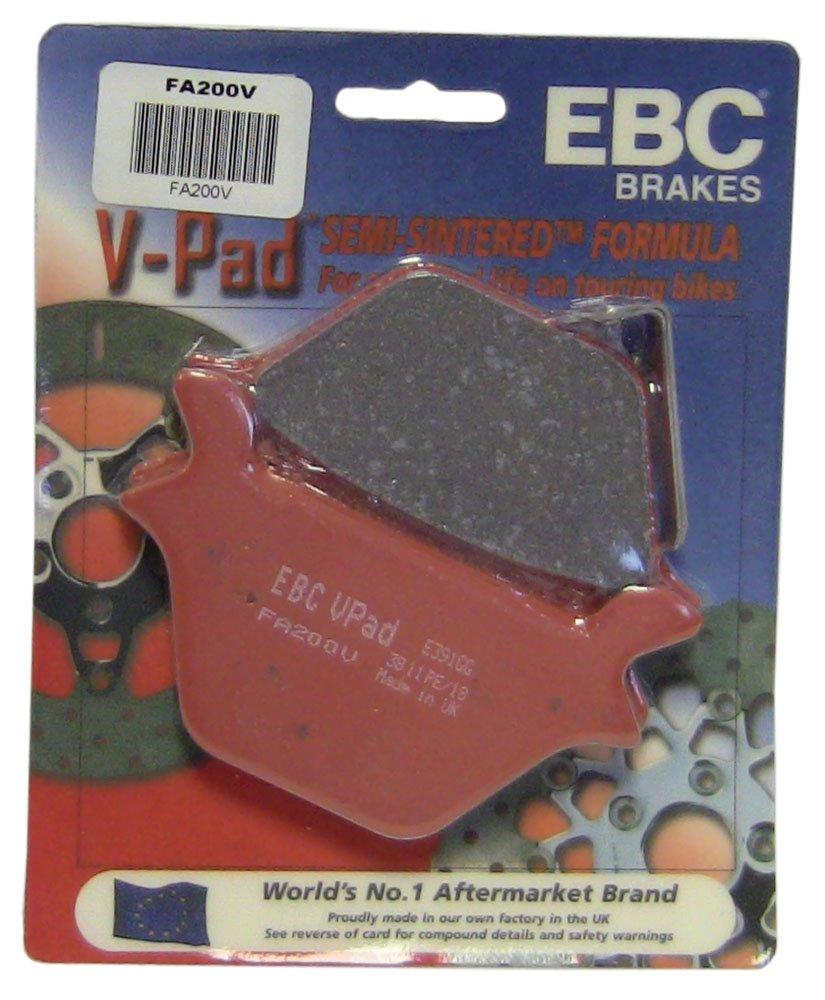 EBC Brakes FA200V Semi Sintered Disc Brake Pad