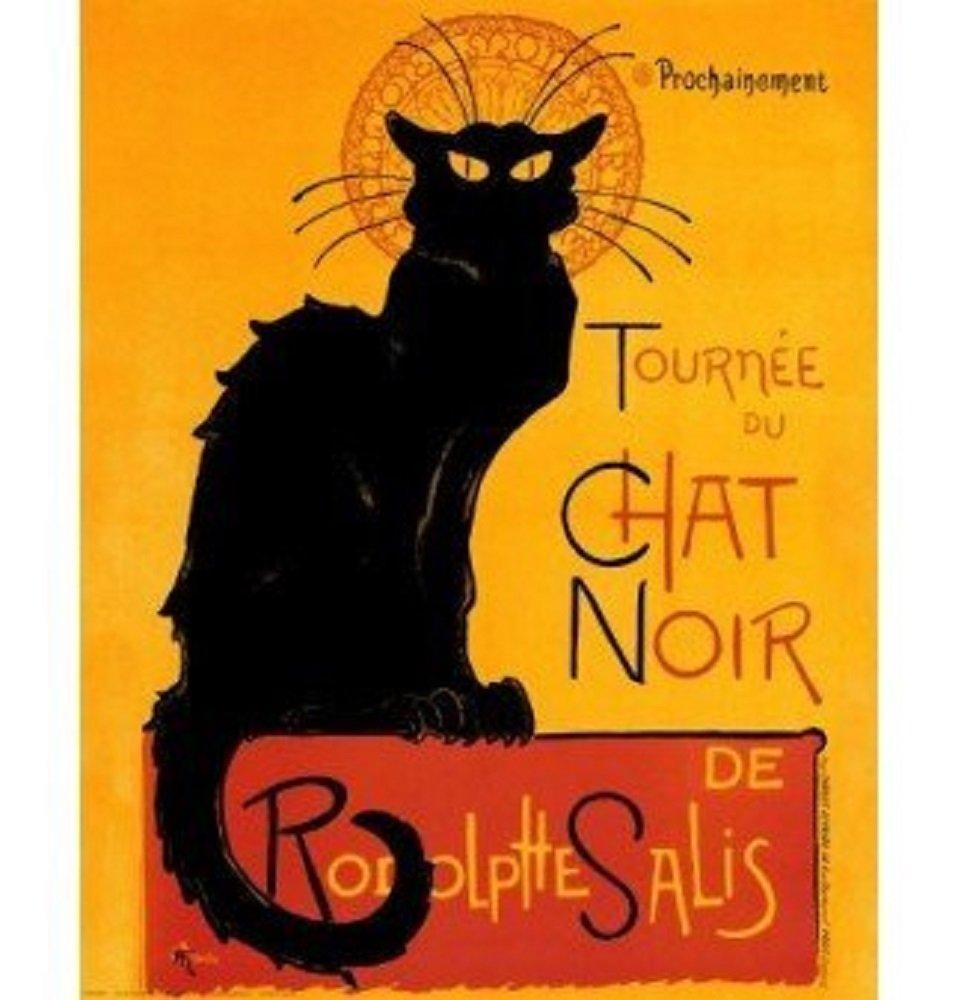 Amazon.com: Le Chat Noir (The Black Cat) by Théophile Alexandre ...
