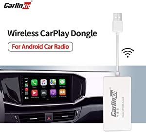 Carlinkit (Please Download APK) Wireless USB dongle, for aftermaket vihecle with A-ndroid System Unit Radio Online Upgrade