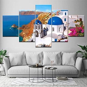 XiaoHeJD 5 Pezzi di Arte della Parete della Decorazione della casa ...