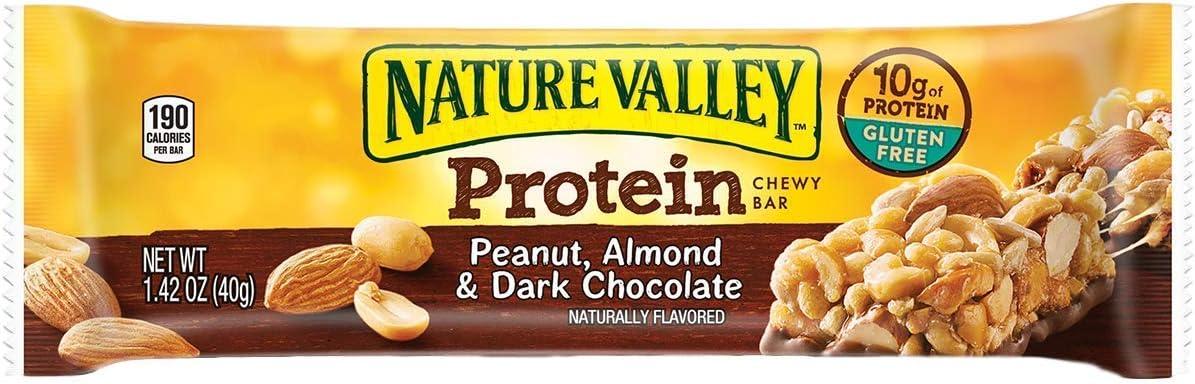 Bulk Pack Protein Bars (Nature Valley, Peanut Butter Dark Chocolate, 30-Pack)