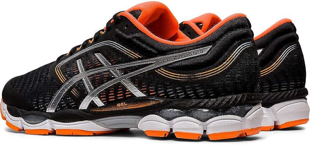 ASICS Gel-Ziruss 3 - Zapatillas de running para hombre, Negro (Negro/Blanco), 46 EU: Amazon.es: Zapatos y complementos