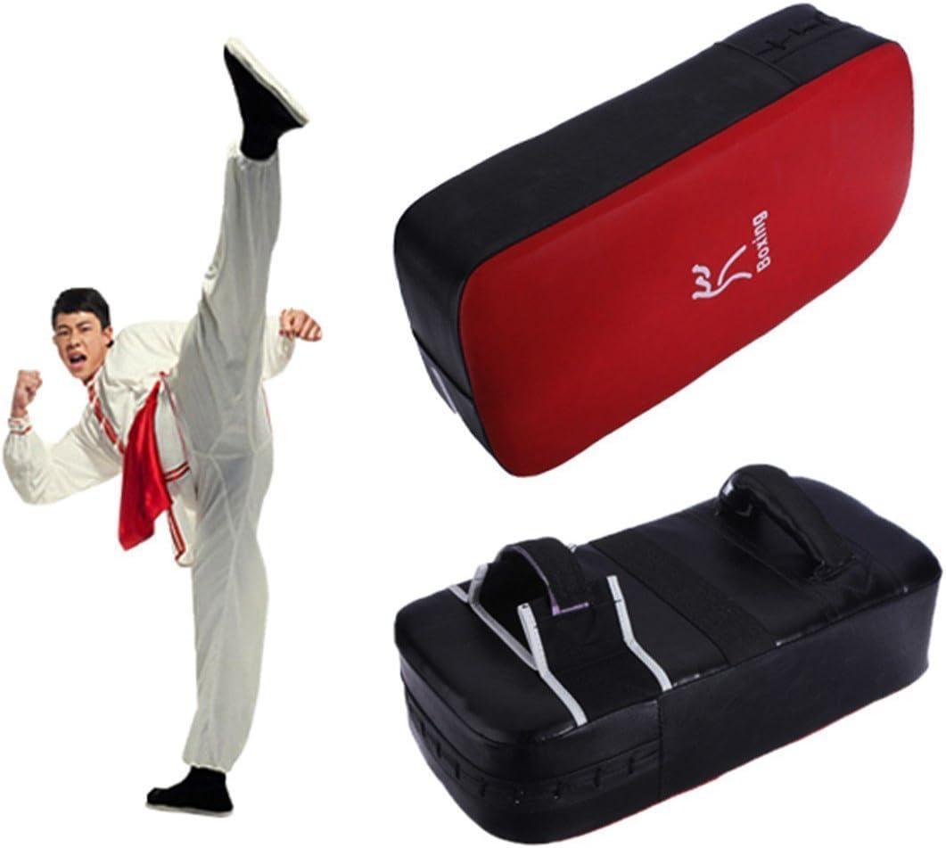 Almohadillas de Patada de Taekwondo,Escudos para Patadas Kick Pad Taekwondo Muay Thai Karate Kickboxing Pr/áctica Boxeo Punching Pad Equipo de Entrenamiento de Artes Marciales