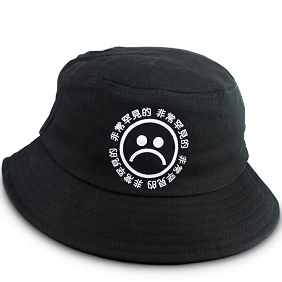 e289ec2dd26 AnarchyCo Men Sad Boys Bucket Hat Festival Accessory  Amazon.co.uk  Clothing