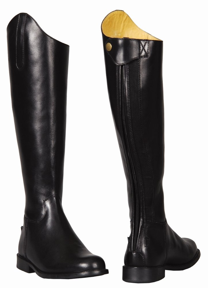 Amazon.com: TuffRider Women's Baroque Dress Boots: Sports & Outdoors