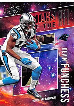 2018 Prestige NFL Stars of the NFL  ST-DF Devin Funchess Carolina Panthers  Panini baa59198e