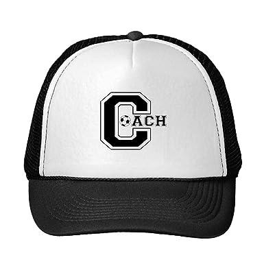 NR Funny Soccer Coach Trucker Hat: Amazon.es: Ropa y accesorios