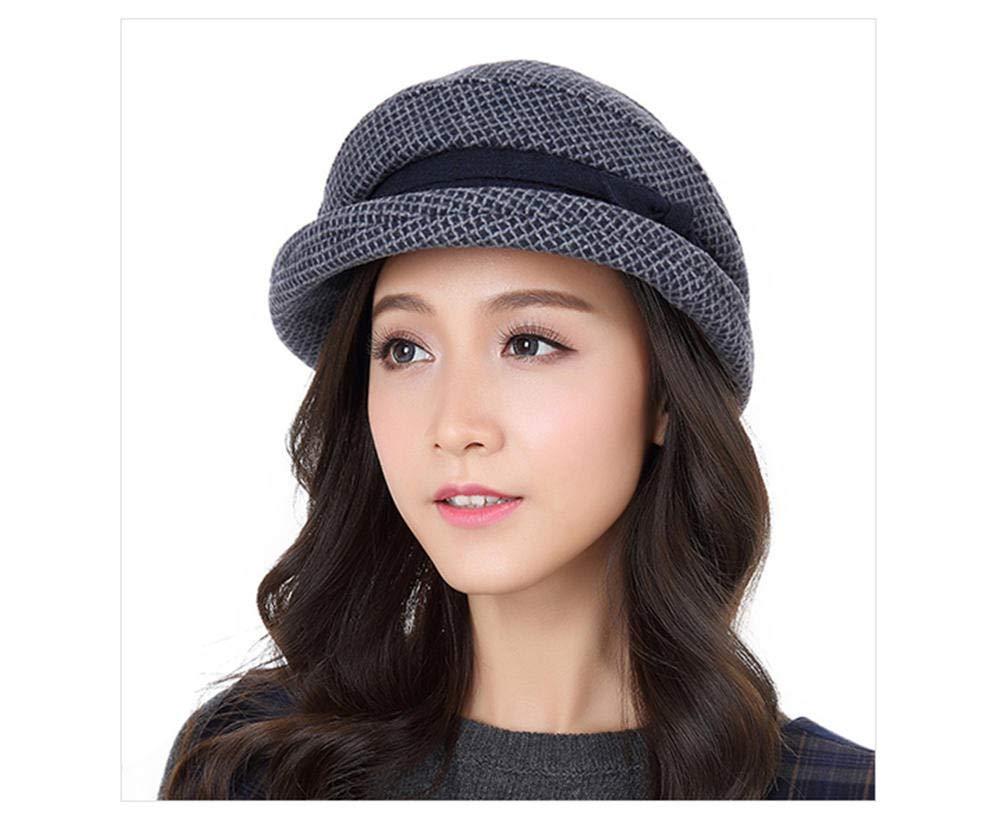 Ladies Summer Women's Spring Curling Elegant Casual Fisherman Foldable Sun Hat Blue