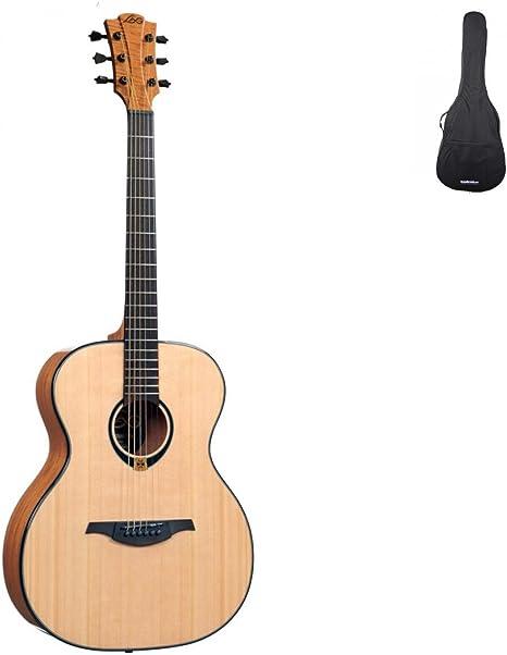 Guitarras acústicas Lag T80 A Tramontana Auditorio Folk: Amazon.es ...