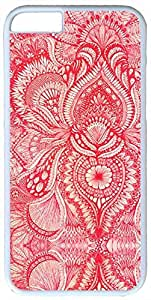 Awesome Apple IPhone 6 Skin Fashion 0020948 red arabesque case for iphone 6 pc materila white Apple IPhone 6 Skin