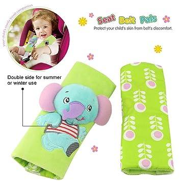 Infant And Baby Car Seat Strap CoversStroller Belt CoversHead Support Shoulder