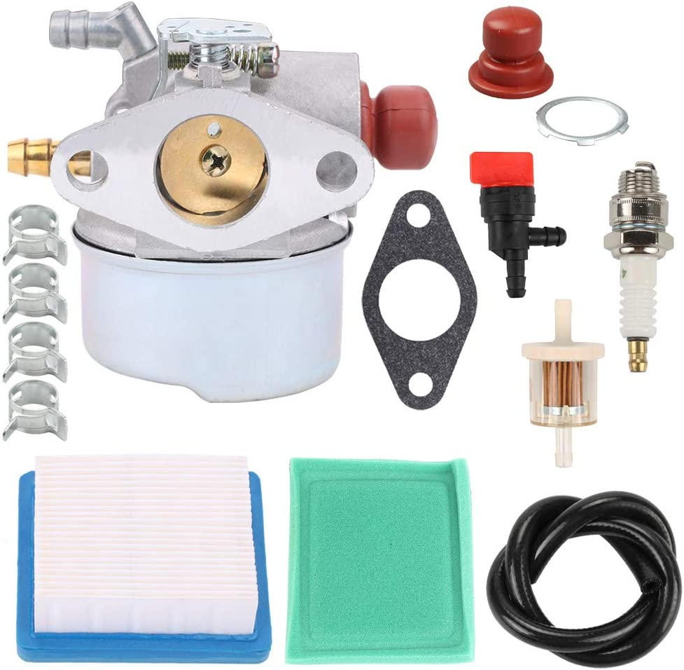 Highmoor 640014 640025 Carburetor Carb for Tecumseh 640135A 640004 640117B 640117 640017 640104 OH195XA OH195EA OHH50 OHH55 OHH60 OHH65 5.5HP Engine Lawn Mower