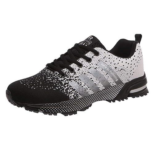 Scarpe da Ginnastica Uomo Donna Sportive Corsa Trail Running Sneakers  Fitness Casual Basse Trekking Estive Running ee19c99a4af