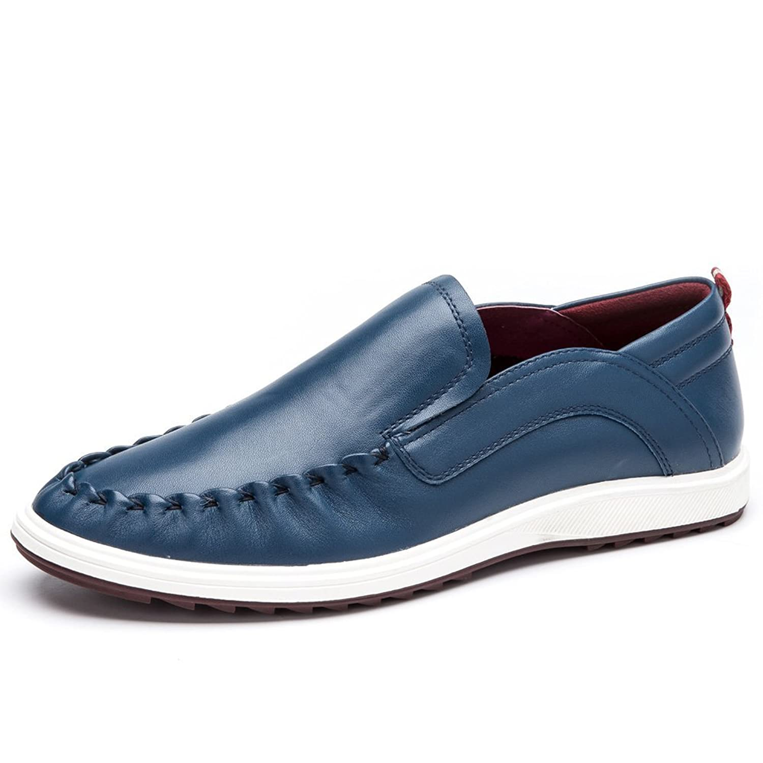 2016Men's everyday shoes/Casual shoes/Leather/Pointed comfortable shoes