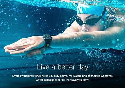 Amazon.com: IDS Home KingWear GV68 Smartwatch IP68 ...