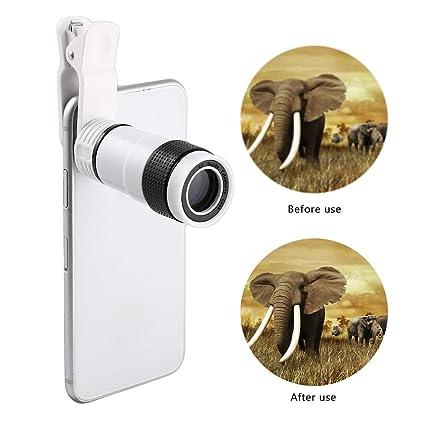 Portable Monocular Telescope Long Focus Lens for Digital Camera /& Mobile Phone