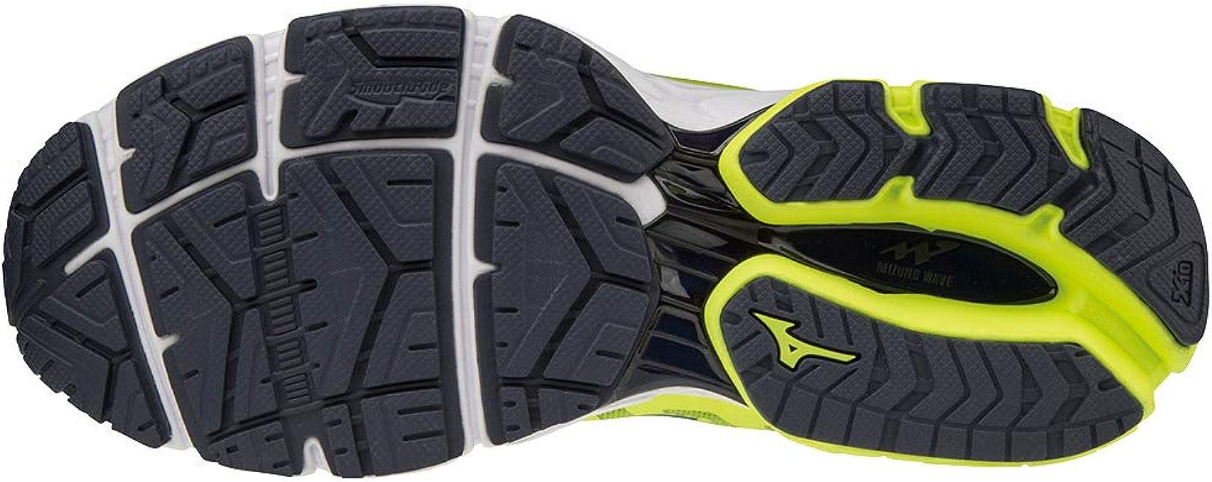 MIZUNO Wave Ultima 11 Safety Yellow/Silver/Dark Shadow: Amazon.es: Zapatos y complementos