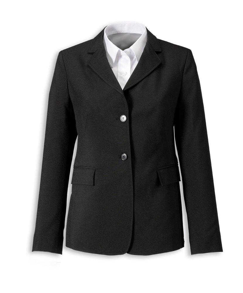 Alexandra Workwear Womens Easycare Rever Collar Jacket Black 6 R by Easycare by Alexandra (Image #1)