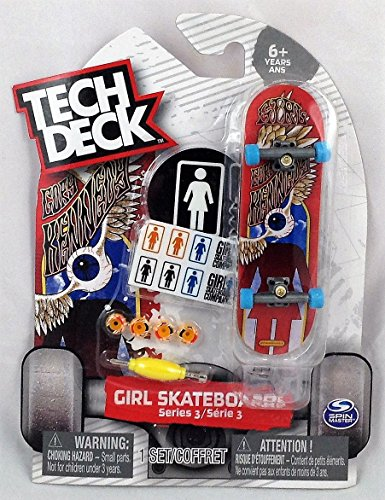 Tech Deck GIRL Series 3 Cory Kennedy Rare #20080811 by Tech Deck