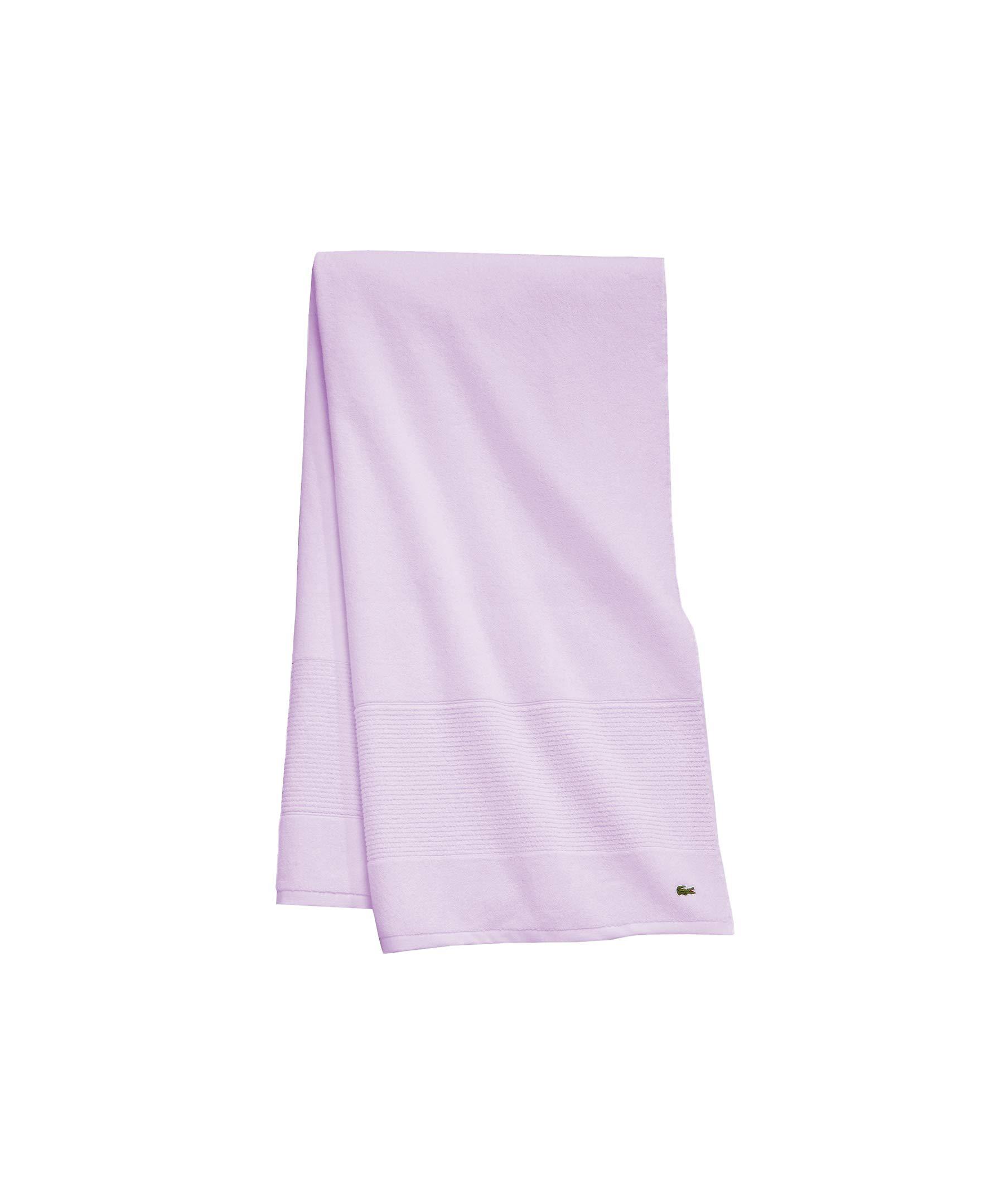 Lacoste Legend Bath Towel Lilac