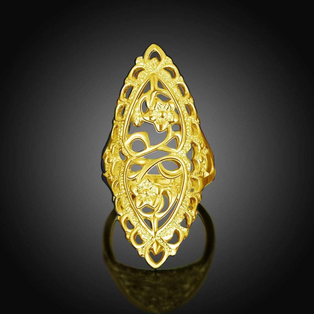 Luminescent Notes Personality Ring Toaimy Ear Pendants Glow in The Dark Punk Style Ring