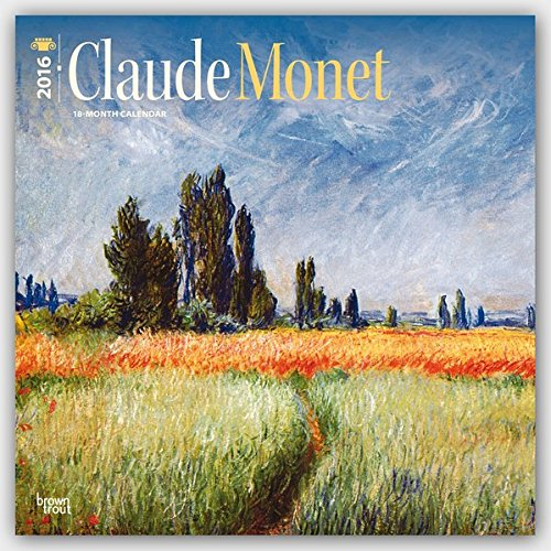 monet claude 2016 square 12x12