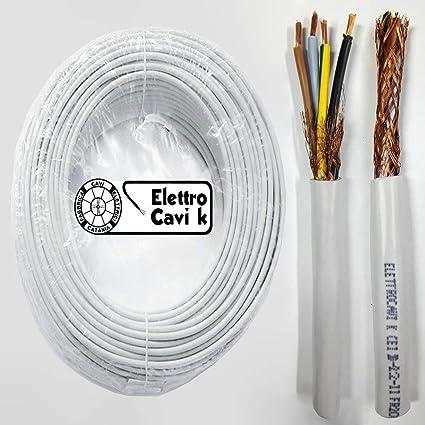 Guaina PVC Grigio Flessibile diametro 8mm