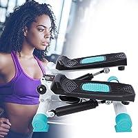 Fitness Stepper, Steppers voor Oefening met LCD-monitor Verstelbare Oefenapparatuur Step Machine Toon uw billen Benen…
