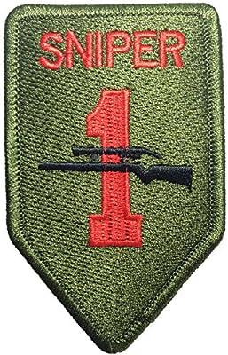 Rank TAB sniper 6 x 9.5cm. Logo Jacket Vest shirt hat blanket backpack T shirt Patches Embroidered Appliques Symbol Badge Cloth Sign Costume Gift