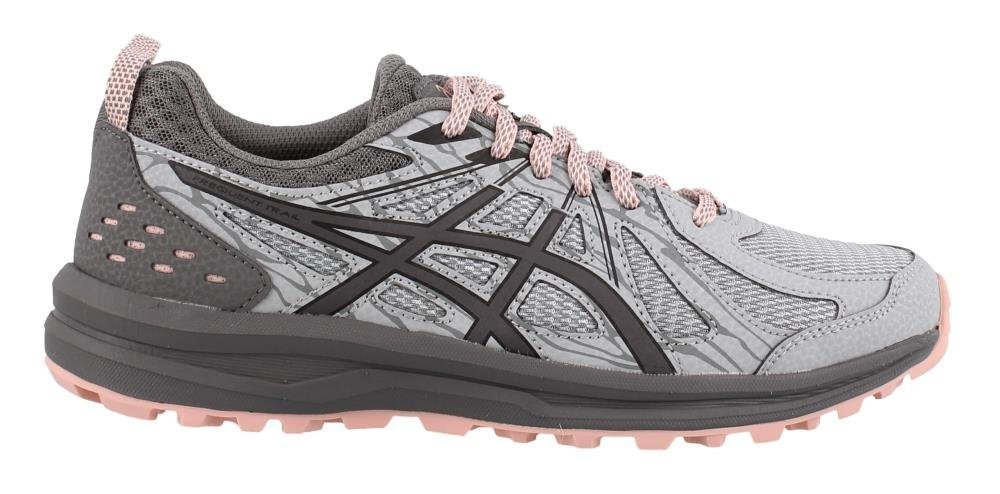 ASICS Women's Frequent Trail Running Shoe B07884YQ4M 7.5 D US|Mid Grey/Carbon