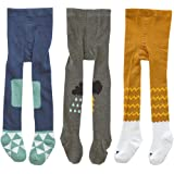 2-3 Years Gellwhu 3-Pack 0-3T Baby Girls Toddler Leggings Pants Tights Stockings Non Skid