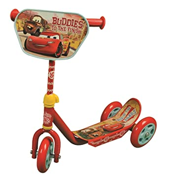 ColorBaby - Patinete 3 ruedas, cars (42789)