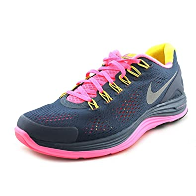 614e4de56dc11 Image Unavailable. Image not available for. Color  Nike Lunarglide+ 4  Running Women s Shoes Size 5.5