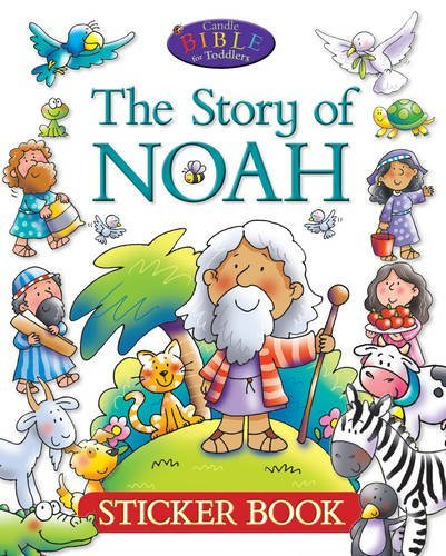 The Story of Noah Sticker Book (Candle Bible for Toddlers)
