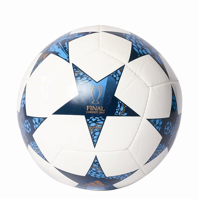 adidas Finale CDF Mini Balón de Fútbol, Hombre, (Blanco/Azumis ...