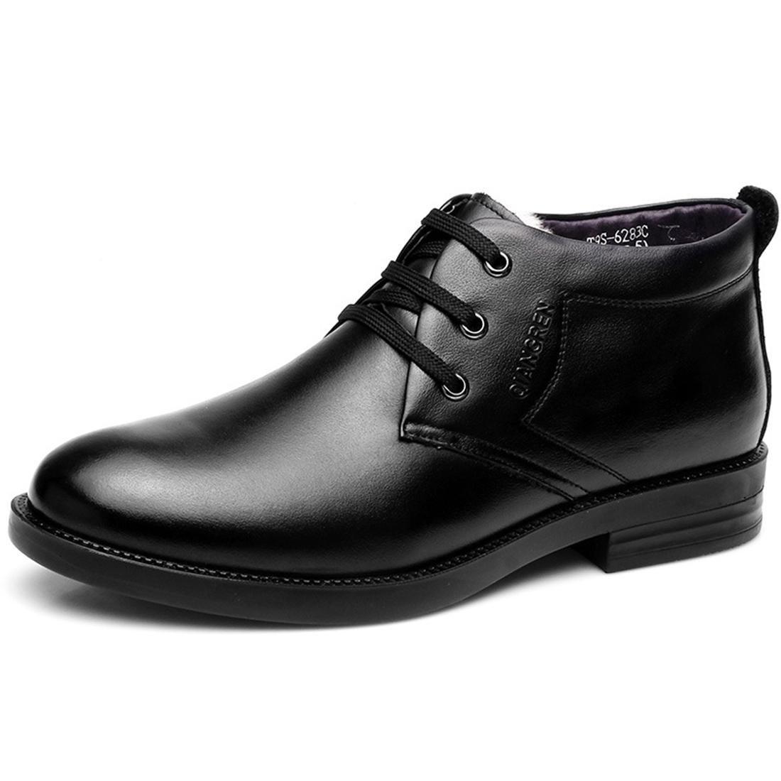 Herren Winter Schneestiefel Gemütlich Warm halten Plus Kaschmir Lederschuhe Geschäft Lederschuhe Formelle Kleidung Stiefel Werkzeug Schuhe EUR GRÖSSE 38-44