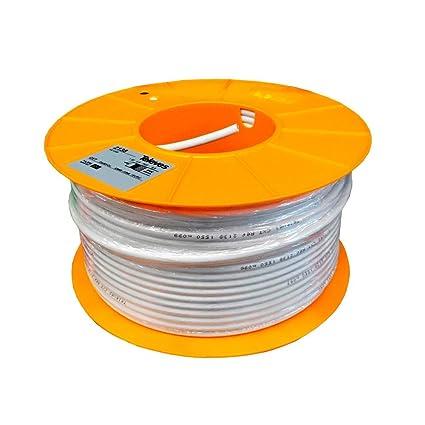 Televes - Cable coaxial cxt cu/cu pvc bl.100m: Amazon.es ...