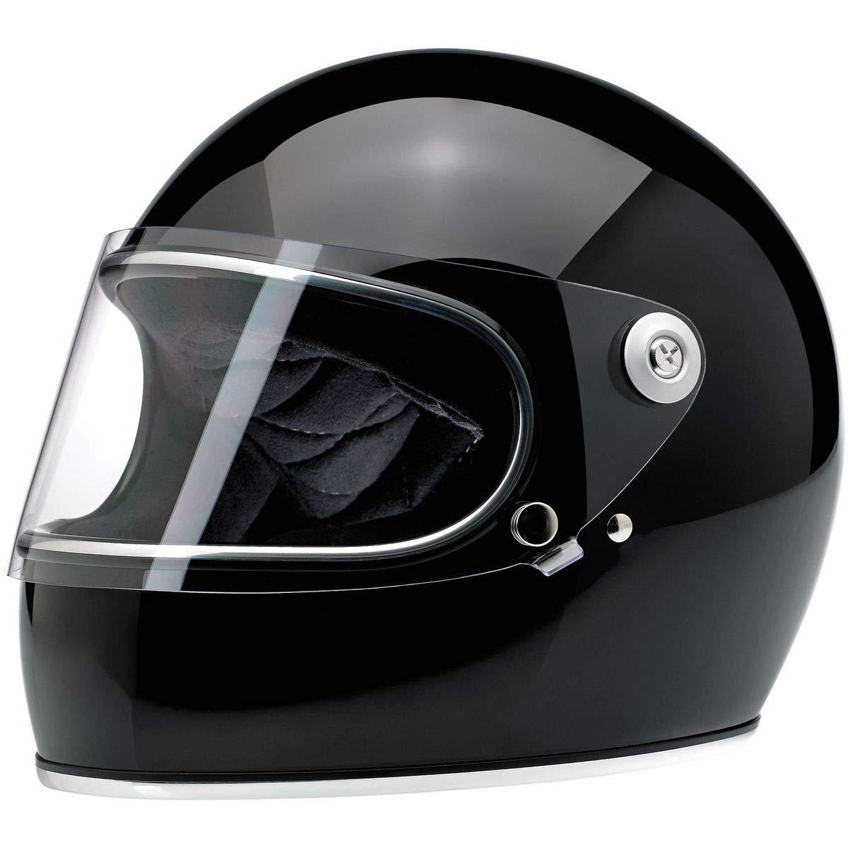 Biltwell Gringo S Helmet (Large/DOT/ECE) (Gloss Black)