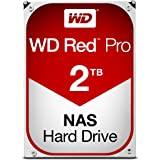 Western Digital 2TB WD Red Pro NAS Internal Hard Drive - 7200 RPM Class, SATA 6 Gb/s, CMR, 64 MB Cache, 3.5…