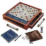super scrabble game - Scrabble Luxury Edition Board Game