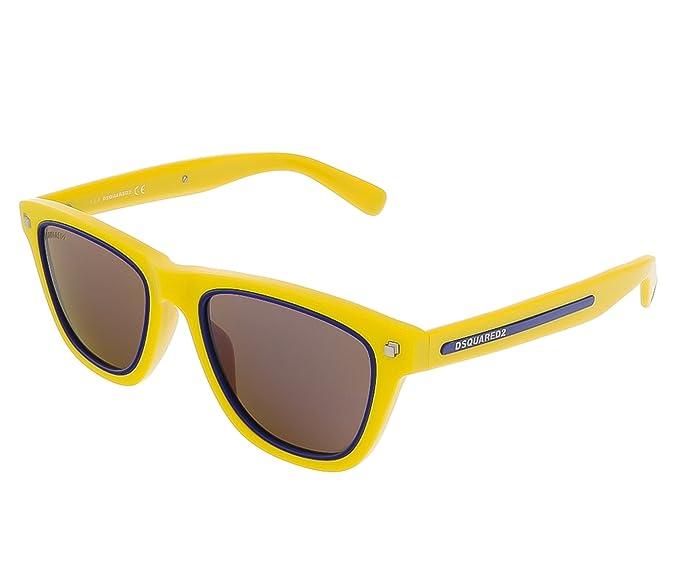 Dsquared2 D Squared Gafas de sol, Amarillo (Yellow), 51.0 ...