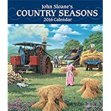 John Sloane's Country Seasons 2016 Monthly/Weekly Planner Calendar
