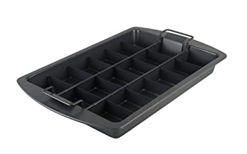 Chicago Metallic Slice Solutions Brownie Pan